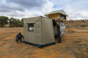 ARB Awning 3 Wall Set