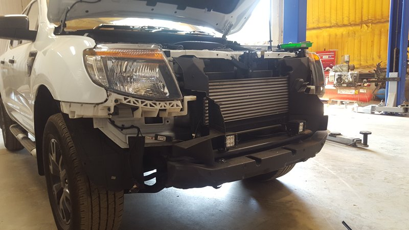 Series Of Modifications To A Ford Ranger 3 2 Wiltrak Pb