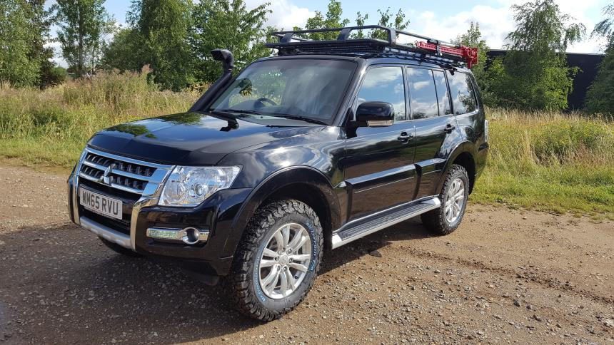 Project To Take A Standard Mitsubishi Shogun Amp Prepare For