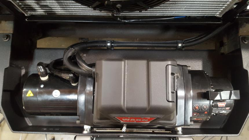Modification of a Land Rover 110 ROW Spec Tdci Defender for Aussie
