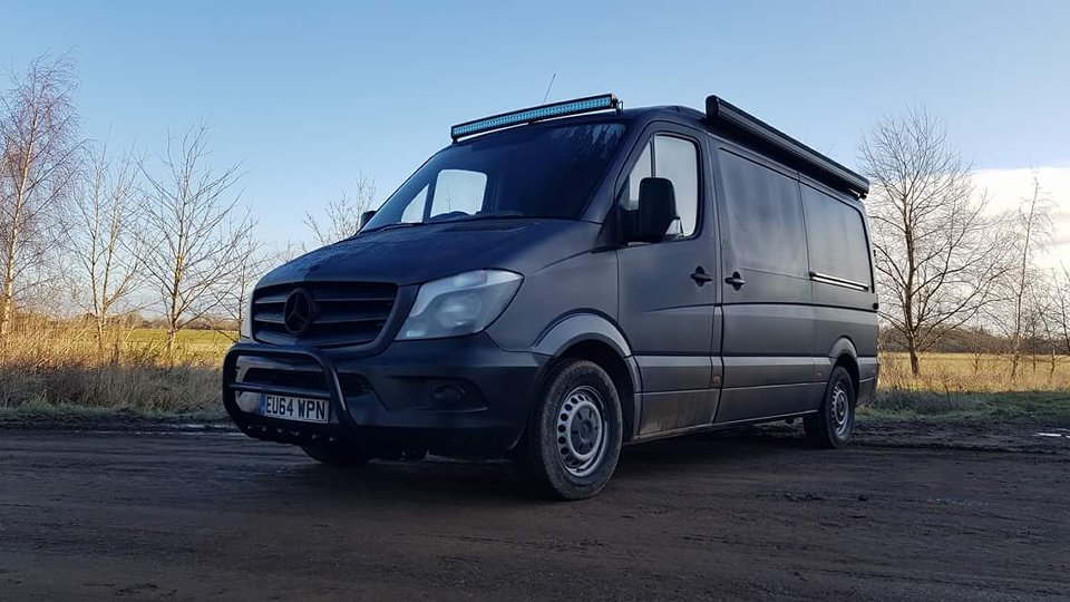 PB Customs Assisted With The Mercedes Sprinter Overland Transformation In Various Phases
