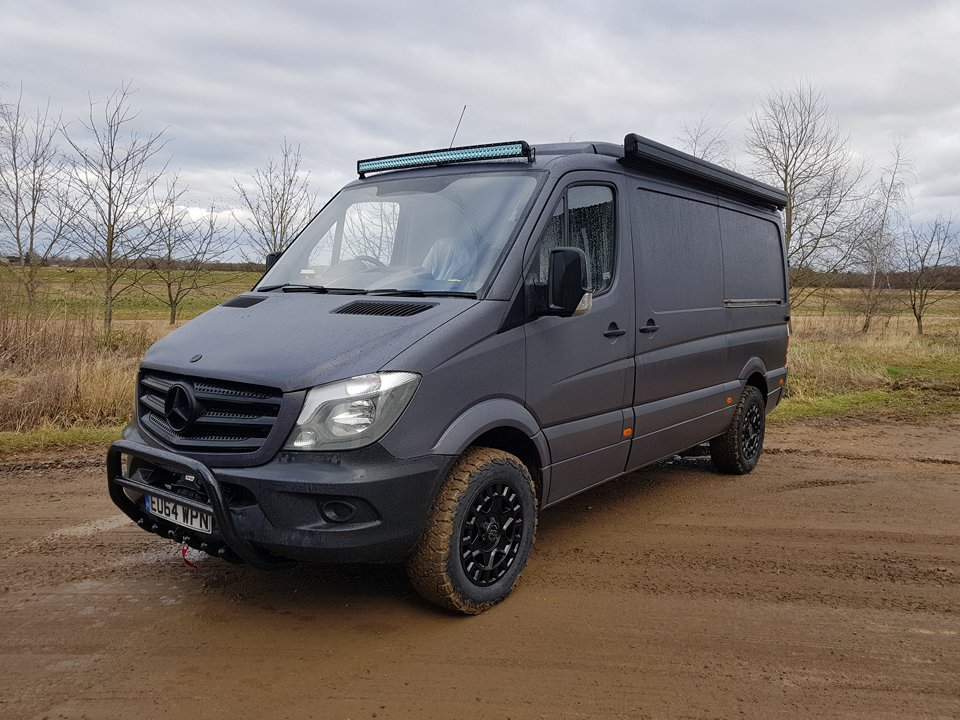Mercedes Sprinter Offroad Overland Transformation Pb Customs